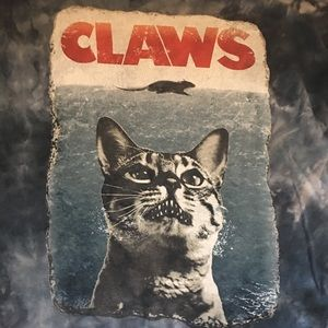 Other - Claws kitty tee shirt